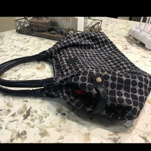 Navy blue- Kate spade top handle bag